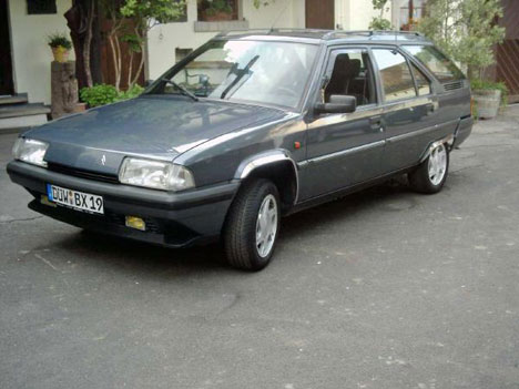 Фото Citroen BX Break (XB-_)
